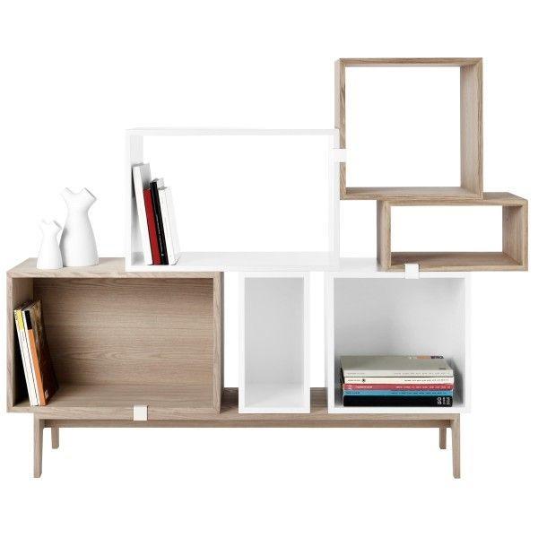 Model: Stacked 6 - Ontwerper: Julien de Smedt - Merk: Muuto - Herkomst: Denemarken - Materiaal: MDF hout - Prijs: € 1073,-