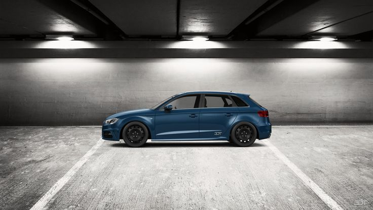 Checkout my tuning #Audi #A3S-Line 2014 at 3DTuning #3dtuning #tuning