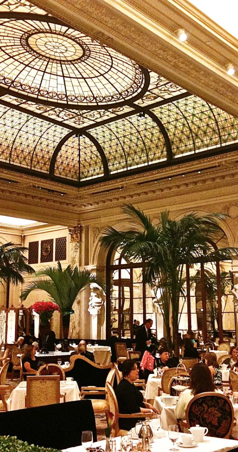 I miss tea at the Palm Court Plaza Hotel NYC.  http://www.pinterest.com/loridschlitz/the-new-yorker-in-me/