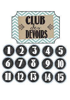 La classe de Karine: Club des devoirs - link to original English blog posted in this article