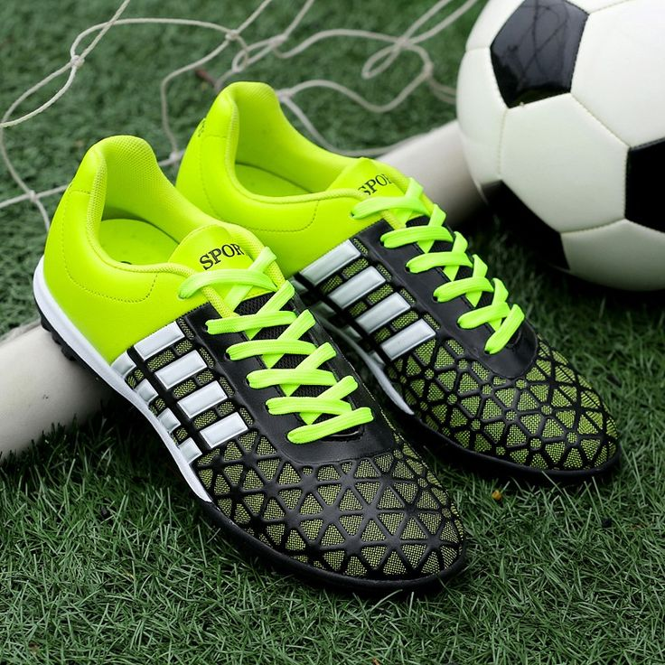 2016 Hot Mens Soccer Cleats Turf Football Boots For Men Footy Boots For Sale Red/Green Cheap Mens Professional Football Boots