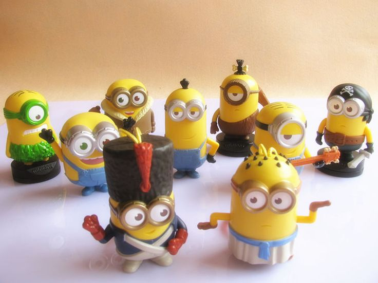 2015 Asia Despicable Me 3 Minions McDonald's Happy Meal Toys Complete 9 PCS NIP    eBay