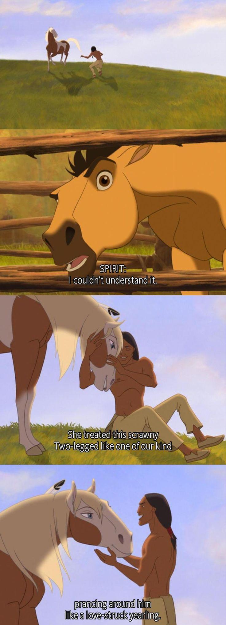 Spirit: Stallion of the Cimarron (Disney) (Dreamworks)