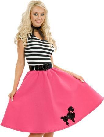 Poodle Dress Adult Costume