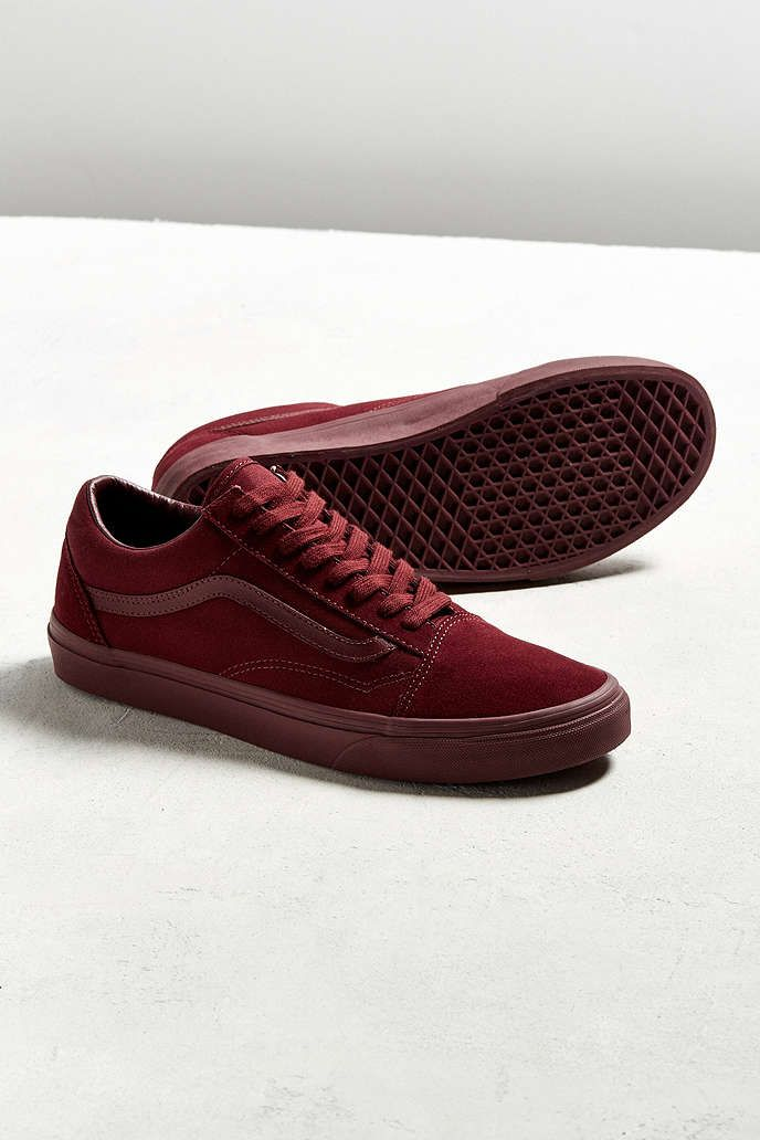 vans old skool red velvet