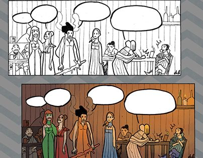 """Check out new work on my @Behance portfolio: """"frames from a comic i did!"""" http://be.net/gallery/48975825/frames-from-a-comic-i-did"""
