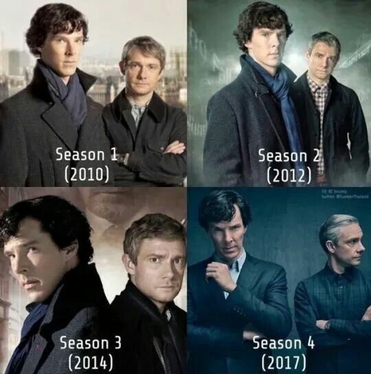 The Men for All Seasons<<<Did anybody else notice that John is getting closer to Sherlock in each season.....