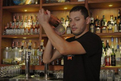 The cocktail menu offers a wide variety of well thought cocktails that make use of fresh and natural ingredients.