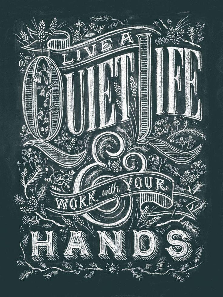 Quiet Life Classic Poster