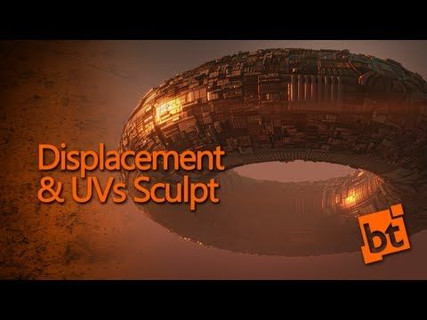 ▶ Displacement & Uvs Sculpting - Create an Alien Spaceship - YouTube