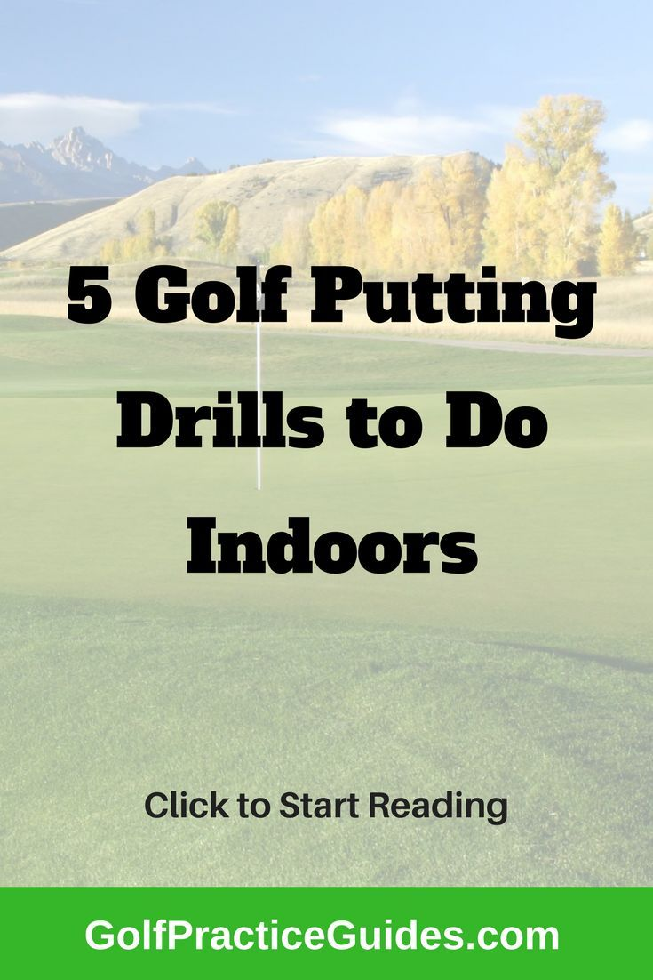 8 Indoor Golf Putting Drills You Can Practice At Home Golf Putting Golf Practice Golf Chipping
