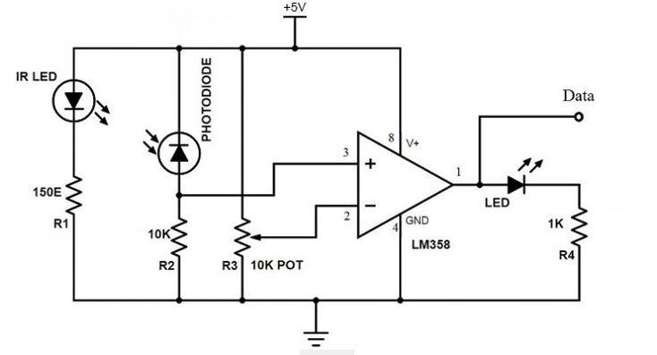 Contactless Digital Tachometer using 8051 Microcontroller