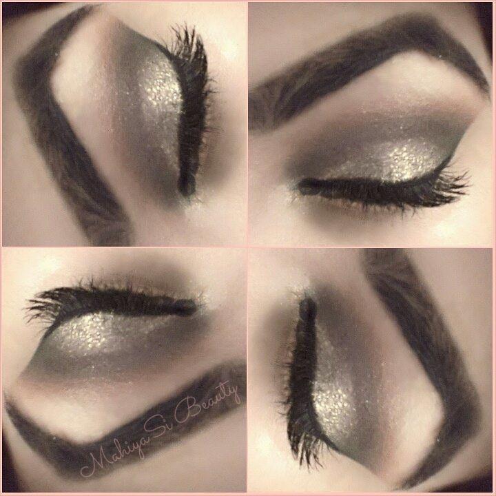 Smokey Gold Eye makeup