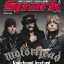 Lemmy, Mikkey Dee, Motörhead, Phil Campbell, Spark Magazine January 2011 Cover Photo - Czech Republic