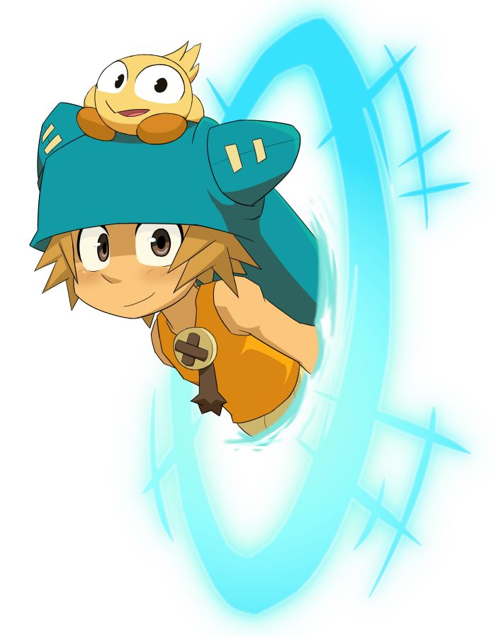 yugo and az from wakfu - Awesome characters.