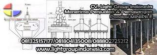 Light Group Indonesia: BAHAN PENGIKAT TIANG PANCANG