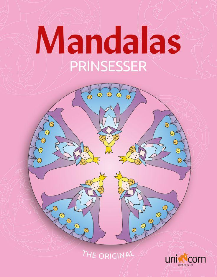 Mandalas Malebok NO Prinsesser