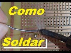 Como Soldar circuitos electrónicos, Tecnicas (cautin estaño)