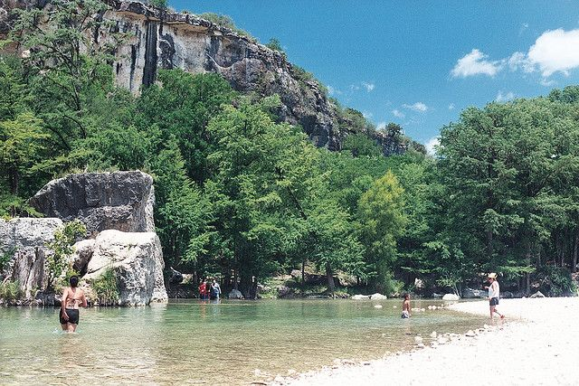 7) Frio River at Garner State Park (Concan) you can kayak, tube, or swim in it,