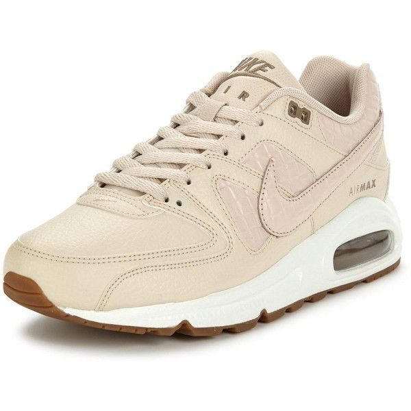 Nike Air Max Command Premium (7,015 PHP) ❤ liked on Polyvore featuring shoes, athletic shoes, fleece-lined shoes, breathable shoes, nike, traction shoes and nike shoes