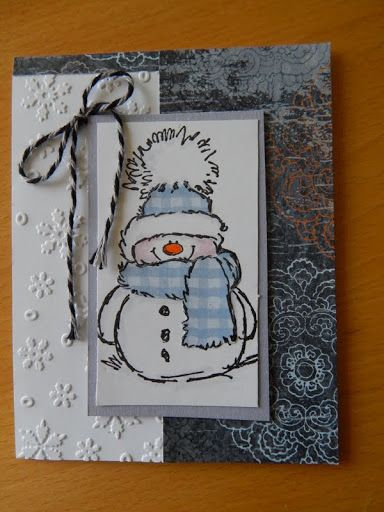 Dianne's cards- Penny Black stamp