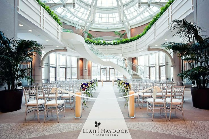 Wintergarden at Seaport East in #Boston, MA. Beautiful indoor wedding venue.