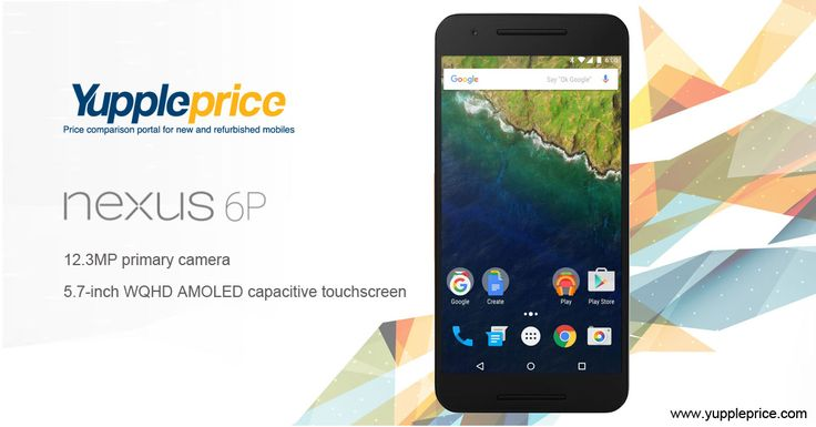 Nexus 6P | 12.3 MP primary camera | 5.7 inch touchscreen #googlenexus #nexus6P #onlinegooglenexus