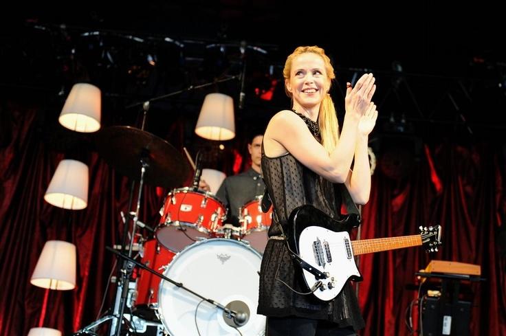 Tina Dickow til Rock Under Broen 2013