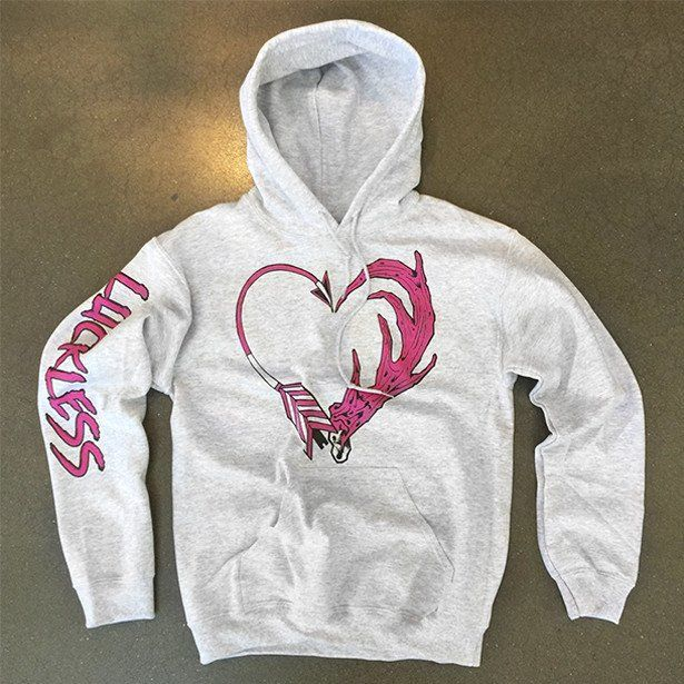 Archery Love Hoodie - Luckless Outfitters - Country - Apparel - Music - Clothing - Redneck - Girl - Women - www.lucklessclothing.com - Matt - Ford Parody - Concert - She Wants the D - Lets Get Dirty - Mud Run - Mudding -