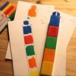 Copier/collet une pile de lego