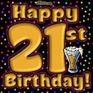 21 happy birthday quotes   Funny 21st Birthday Graphics -LayoutLocator.com - Search over 550,000 ...