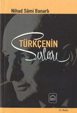 nihat sami banarlı - türkçenin sırları