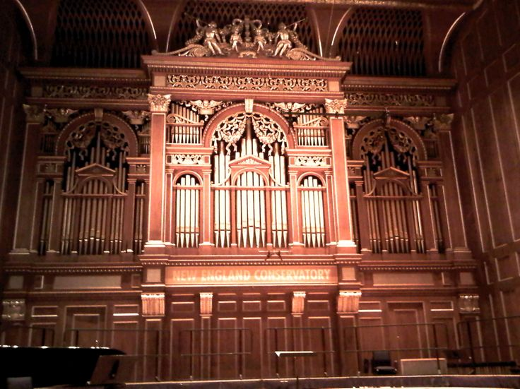 Jordan Hall, New England Conservatory of Music, Boston, MA
