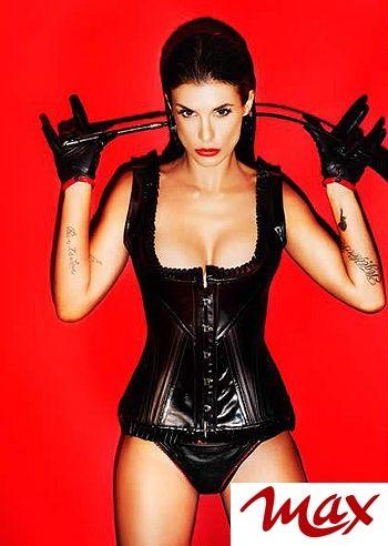 Elisabetta Canalis sexy e fetish su Max: le foto - Foto e Gossip by Gossip News