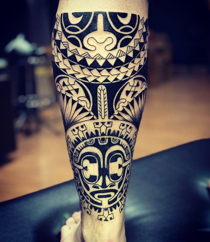 In progress... Good Luck Tattoo - Contatos: WWW.TATUAGEM.COM.BR - tatuagem@tatuagem.com.br - 011- 2897-8739 H.C #tattoo #tatuagem #tattoomaori #samoatattoo #tatuagemmaori #polynesiantattoo #maori #maoritattoo #hawai #tattootribal #marquesantattoo #polynesiantribal #tiki #tatau #tattoos #blackwork #tatouage #goodlucktattoojanser #tatuaje #tattooartist #tatuaggi #tatoo #polynesiantattoo #polynesianart #tatuadormaori