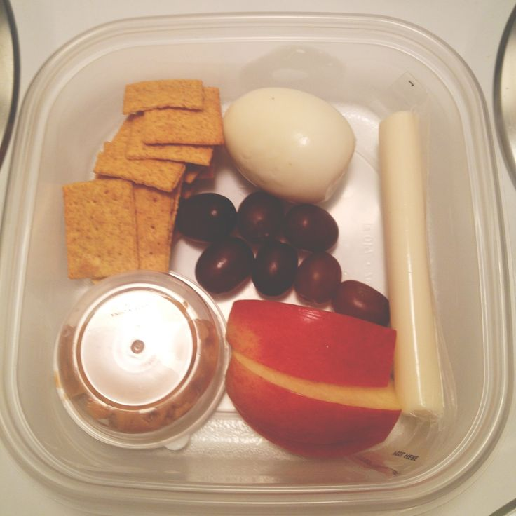 I have this thing for Starbucks Protein Box. But I'm cheap, so I made my own! Snacking throughout my day just got easier!