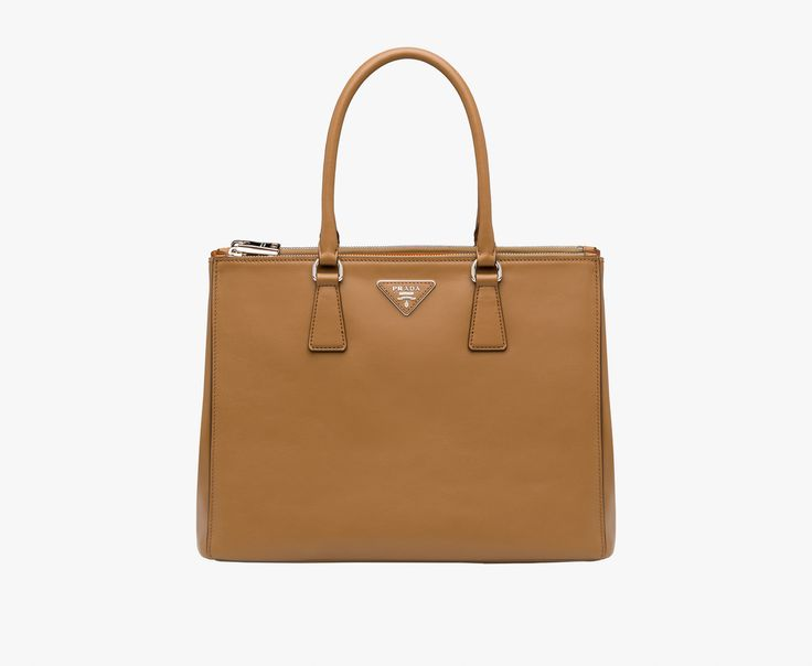 nylon hand bags - prada galleria bag caramel/papaya, prada imitation purses