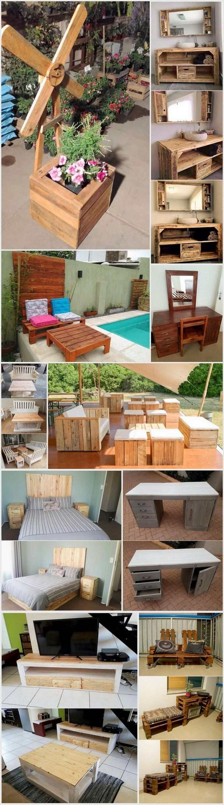 Wooden pallet craft projects - Excellent Ideas With Used Wood Pallets