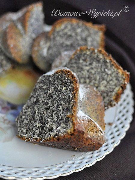 Babka makowo- kokosowa