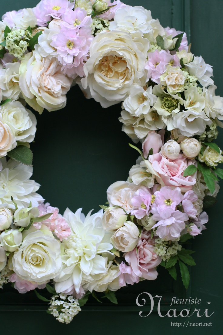 cherry blossoms wreath