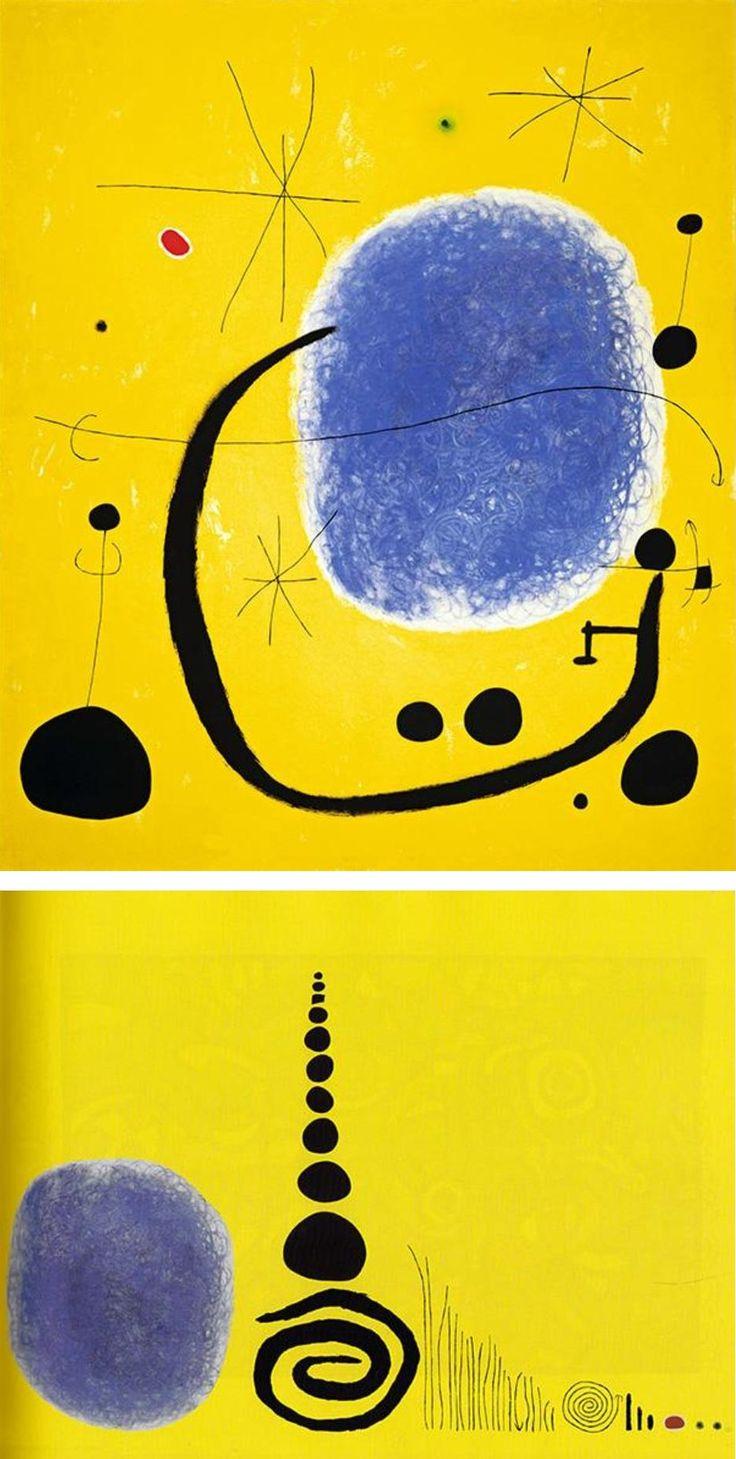 "Ursus Wehrli, Tidying Up Art. Joan Miró ""The Gold of the Azure"" http://www.demilked.com/tidying-up-art-ursus-wehrli/"