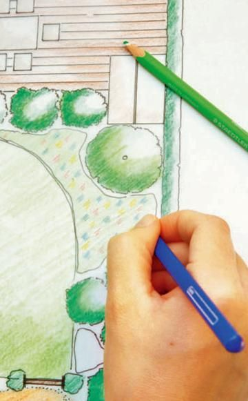 Solange die Natur noch im Winterschlaf liegt, können Sie Anregungen für die nächste Saison sammeln. Am besten ganz konkret – indem Sie sich einen eigenen Gartenplan zeichnen.