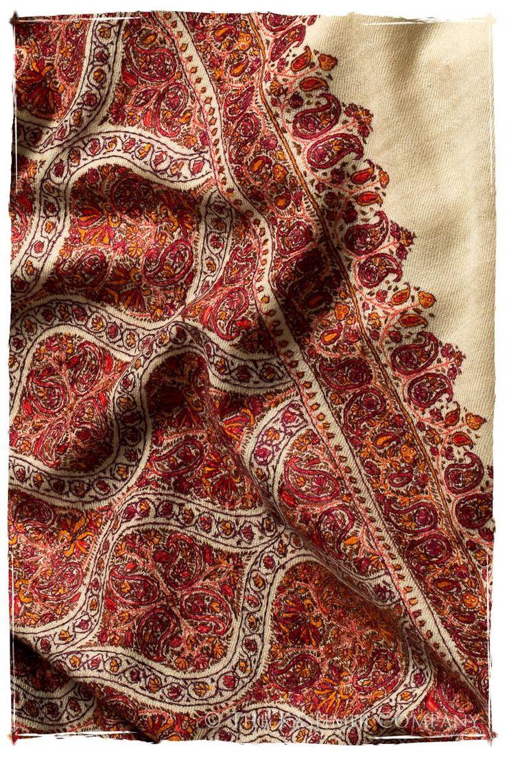 The Mogul Majesty - Grand Pashmina Shawl