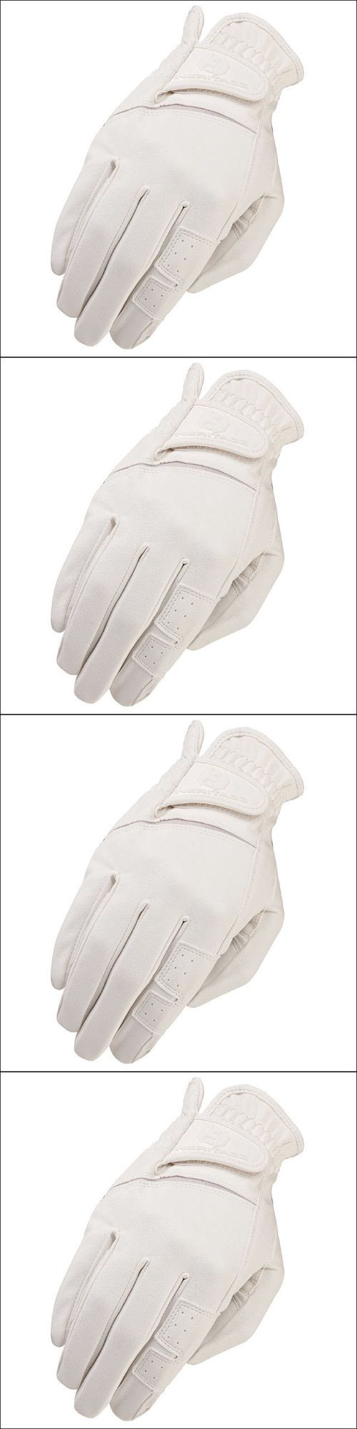 Ladies leather horse riding gloves - Riding Gloves 95104 06 Size Heritage Gpx Show Horse Riding Equestrian Glove Leather White Buy