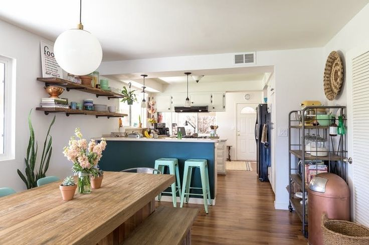 5 of the most kid-friendly kitchen we could find. These kid friendly kitchen design ideas are perfect if you're looking for organization (cabinets, we're looking at you!) or decor that will keep your kids safe.