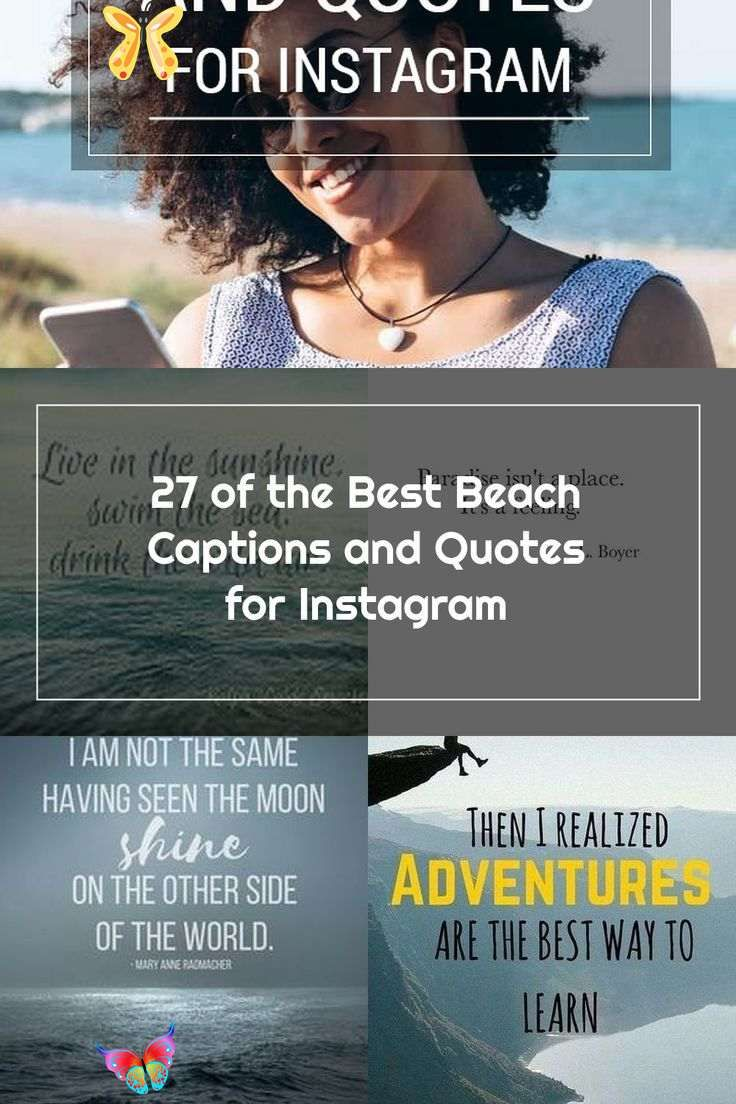 27 of the Best Beach Captions and Quotes for Instagram ...