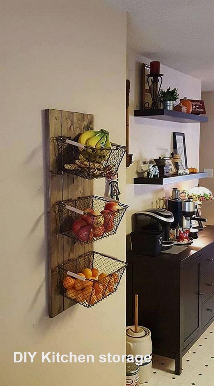 New Diy Kitchen Storage Ideas Kitchendiy Kitchen In 2020 Small
