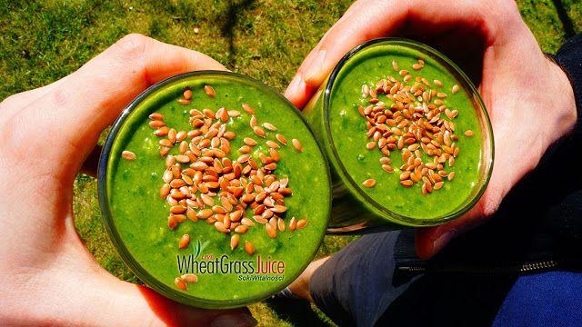 Zielony koktajl na zdrowie, regularnie spożywany działa cuda!