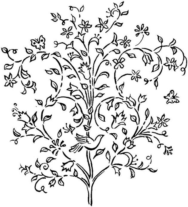 Coloring Pages Of Le Trees : 391 best coloring pages images on pinterest