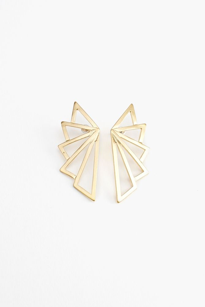 Deco Wing Earrings